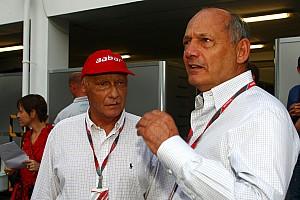 Formula 1 Lauda tips McLaren to challenge Red Bull in 2012