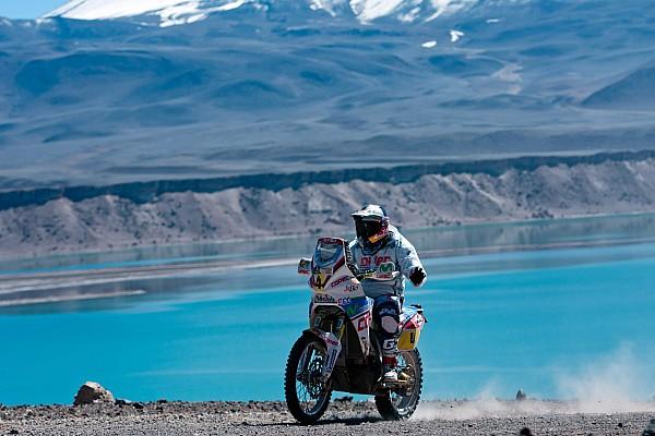 Drag Aprilla Racing stage 6 report