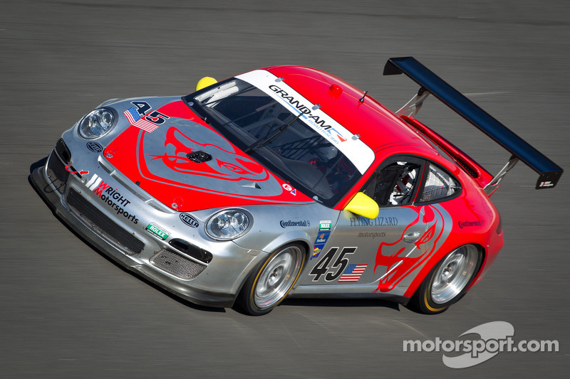 Flying Lizard Motorsports Daytona January test summary