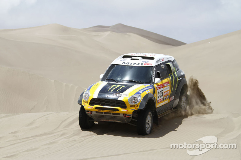 Roma places his MINI fastest to take the 10th stage victory