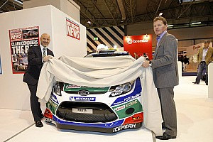 WRC 2012 Ford RS WRC livery presented at Autosport Show