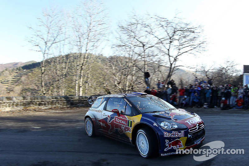 Citroën Monte Carlo Rally leg 2 summary