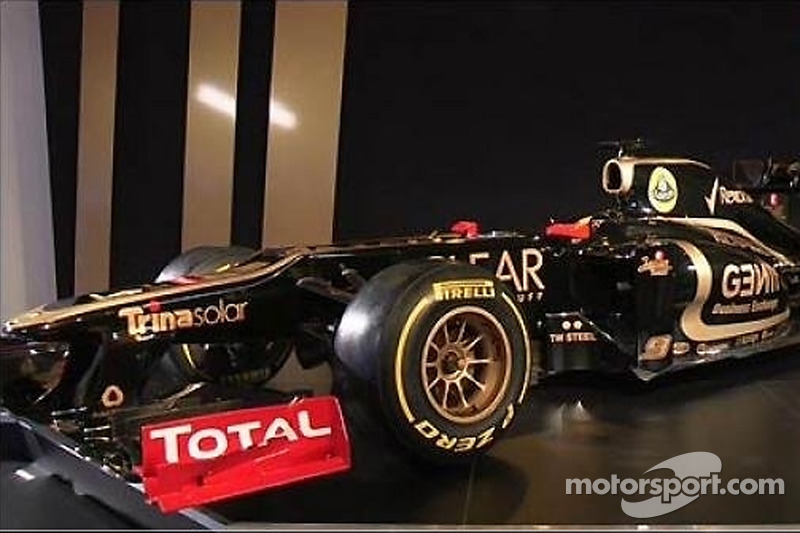 Lotus E20 continues the Enstone tradition