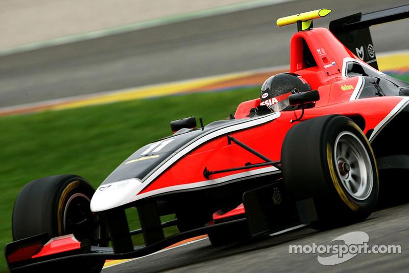 Marussia Manor Racing GP3 confirms Dmitry Suranovich for 2012 season