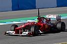 Ferrari Jerez test day 1 report