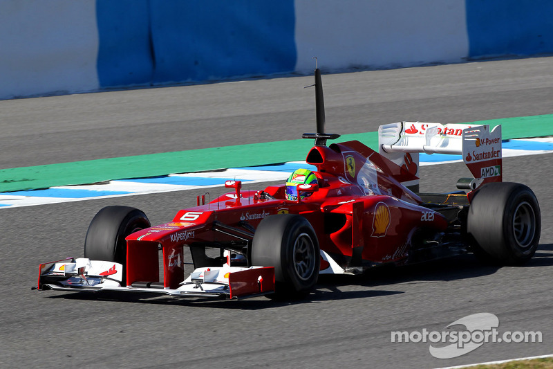Ferrari Jerez test day 1 report