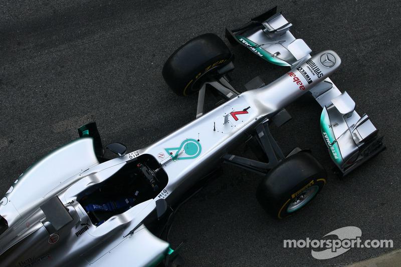 Mercedes AMG Petronas presents F1 W03 in Barcelona