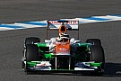 Force India Barcelona -  Day 1 report - Hulkenberg second fastest