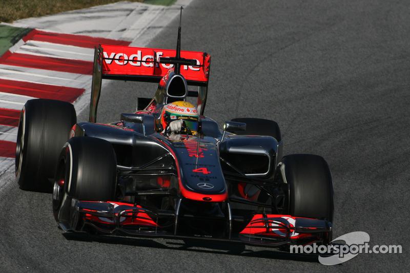 McLaren Barcelona testing -  Day 2 report