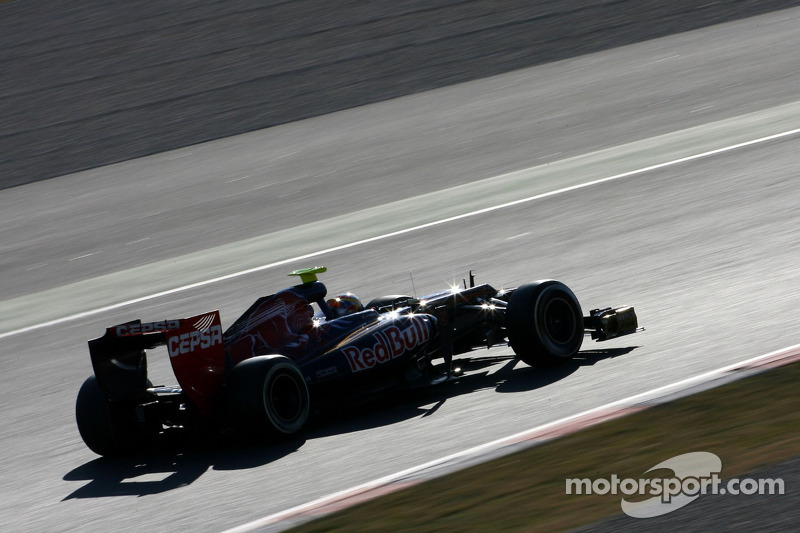 Toro Rosso Barcelona testing - Day 3 report