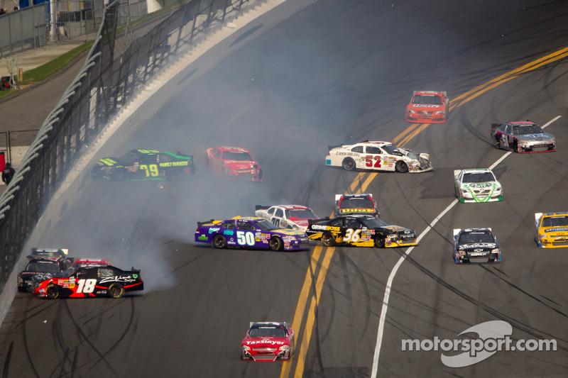 Ryan Truex Daytona debut spoiled by crash