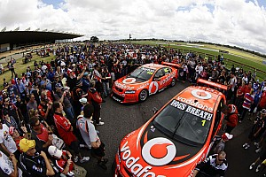 Supercars TeamVodafone seek success at home soil V8 Supercar season opener