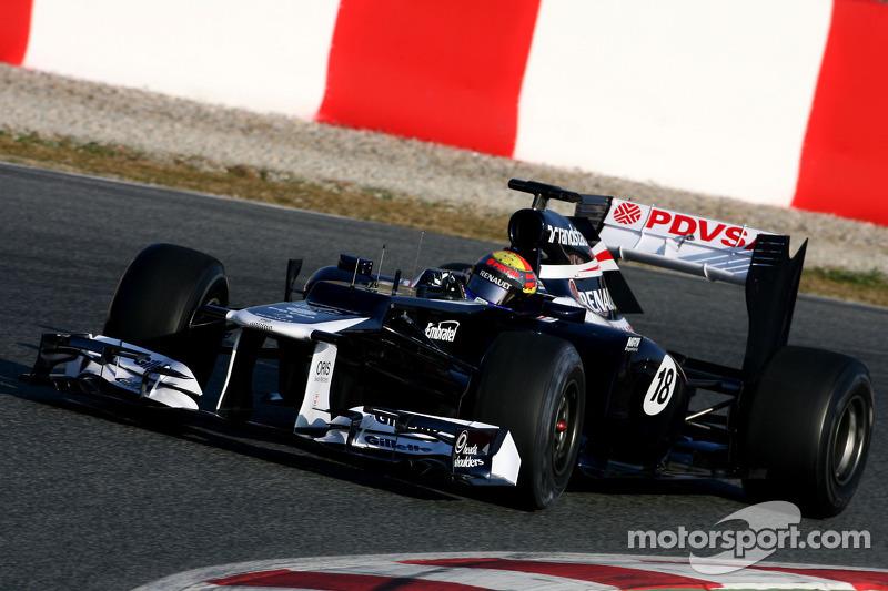 Williams Australian GP - Melbourne Friday practice report