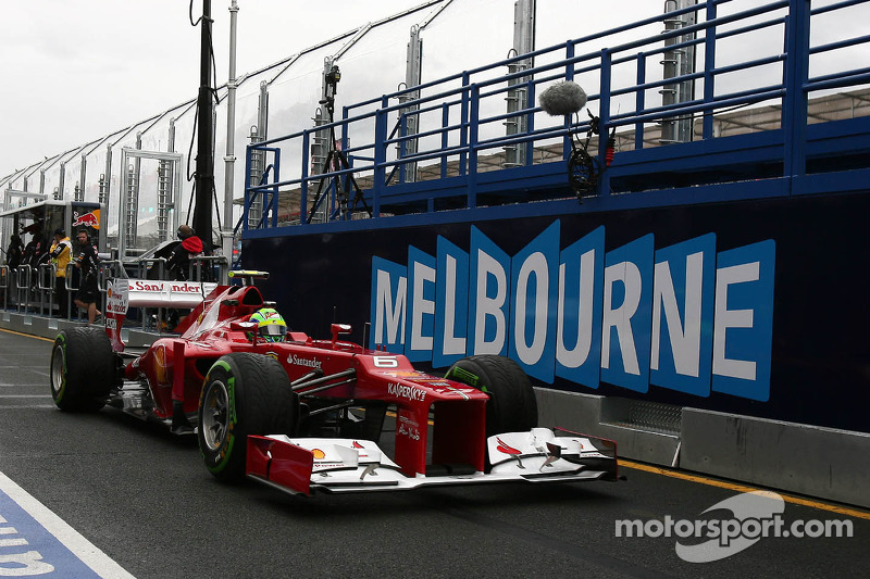 Ferrari at the Australian GP - Clouds cloud judgement