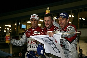 WEC Audi celebrates R18 farewell with Sebring win