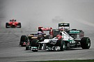 Heavy rain causes red flag in Malaysian GP