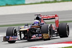 Formula 1 Toro Rosso Malaysian GP - Sepang qualifying report