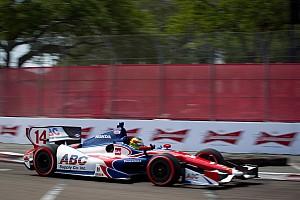 IndyCar AJ Foyt Racing St. Pete race report
