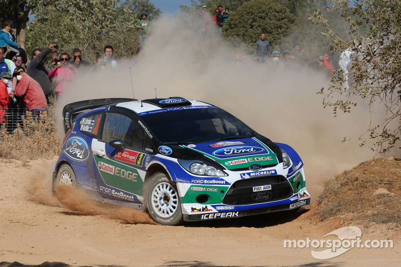 Latvala leads after drama-filled first day of Rally de Portugal