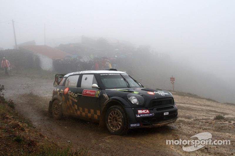 Team MINI Portugal Rally de Portugal final summary