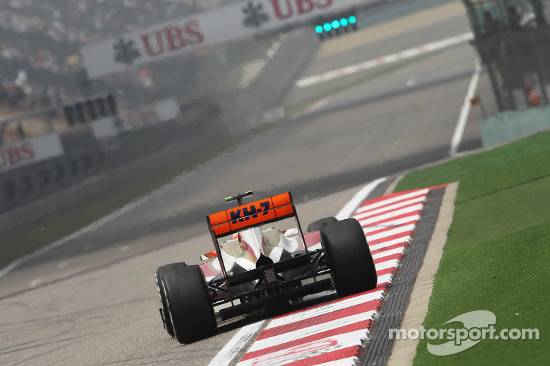 HRT Chinese GP - Shanghai qualifying report