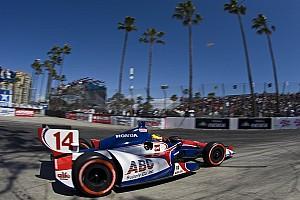 IndyCar AJ Foyt Racing Long Beach race report