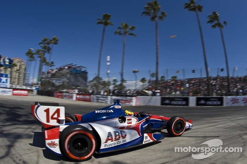 AJ Foyt Racing Long Beach race report