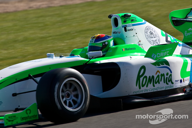 Marinescu secures pole for second Silverstone race