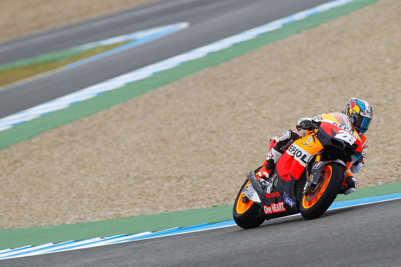Pedrosa tops wet free practice at Jerez