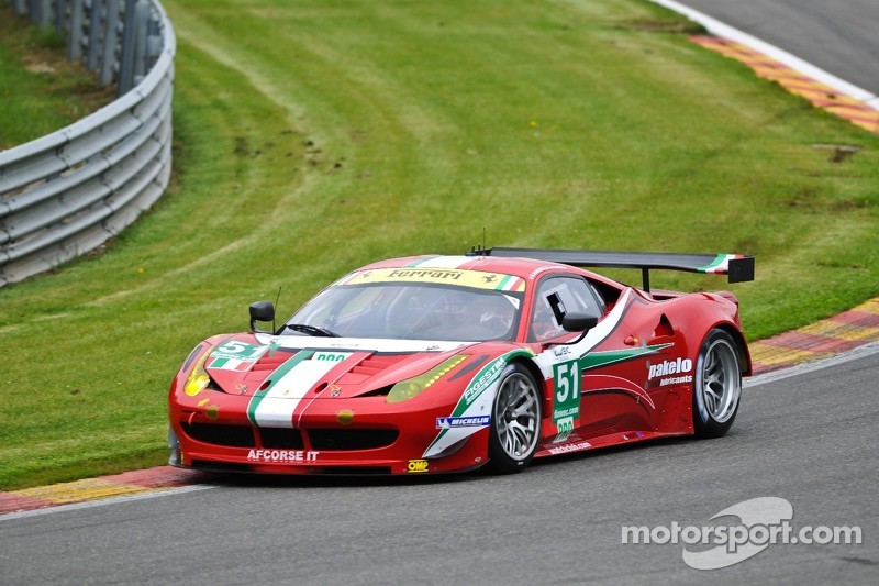 AF Corse 6 Hours of Spa qualifying report
