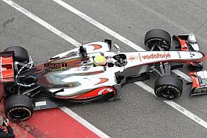 Formula 1 McLaren tested higher nose at Mugello