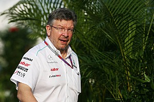 Formula 1 Illness sidelines Brawn in Barcelona