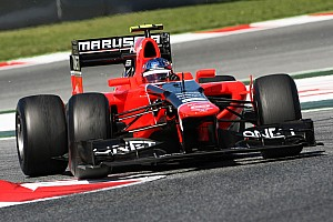 Formula 1 Marussia Spanish GP Friday report