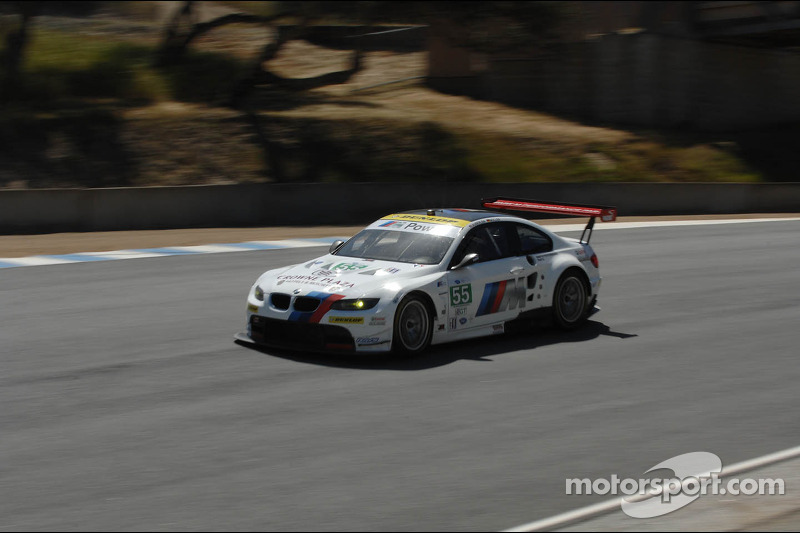 BMW Team RLL Laguna Seca qualifying report