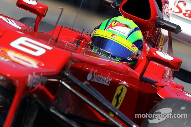Massa insists Ferrari still supporting him