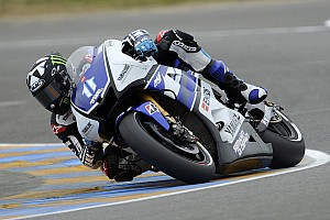 MotoGP Yamaha Factory team French GP qualifying report