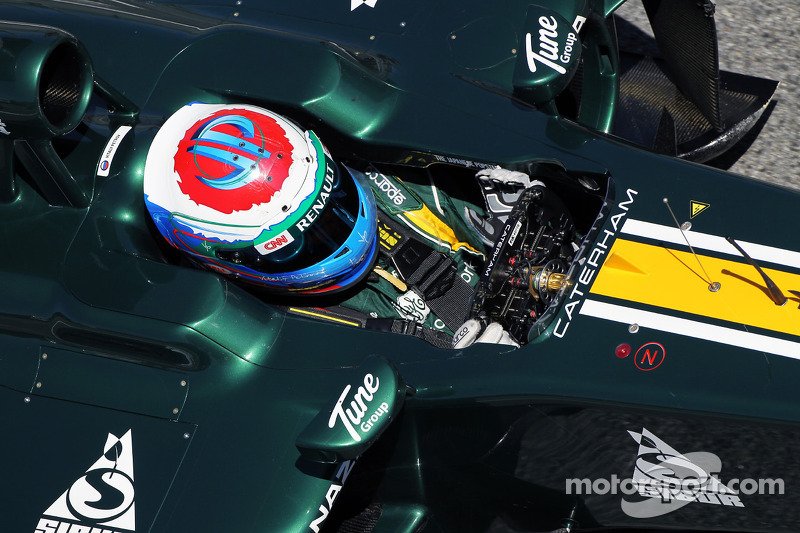Caterham team looks forward to racing on the Monaco circuit