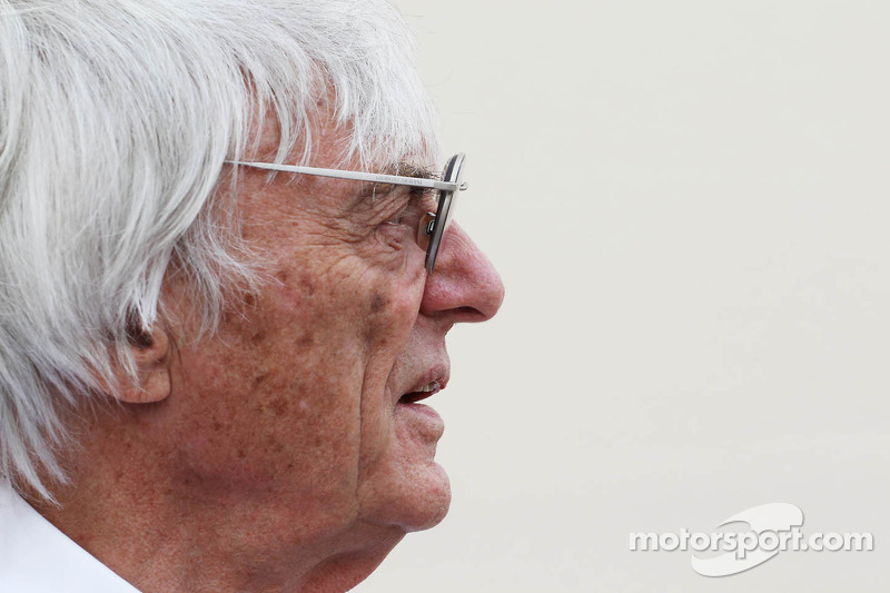 Politics steered France return off track - Ecclestone