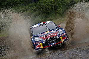 WRC Loeb holds off Ford chargers to keep Acropolis Rally lead