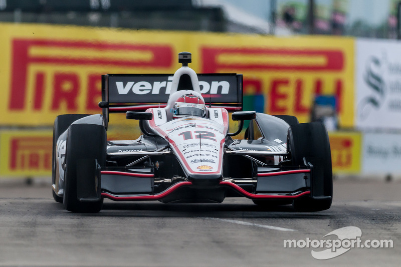 Series faces wet conditions Friday at Detroit GP