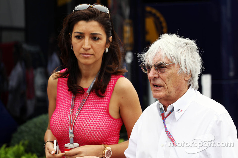 Police arrest protesters at Ecclestone event