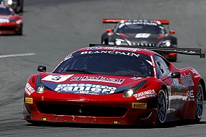 Blancpain Sprint Ferrari first in race one at Slovakiaring