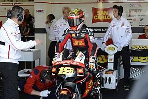 MotoGP Bautista claims maiden MotoGP pole at Silverstone