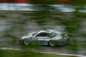 Grand-Am Qualifying report Porsche teams face washout of qualifying at Road America