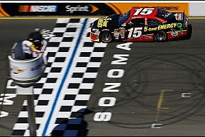 NASCAR Cup Race report Clint Bowyer powers to victory at Sonoma
