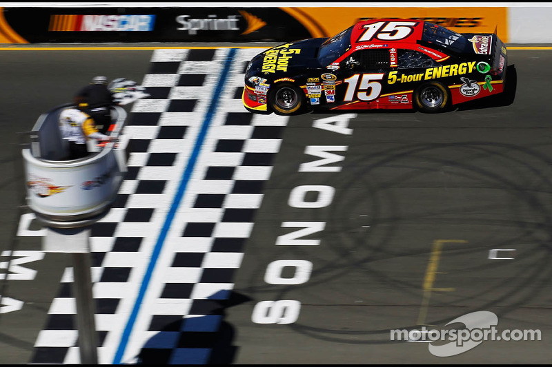 Clint Bowyer powers to victory at Sonoma