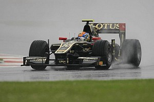GP2 Race report Mexico's Gutiérrez ends up with surprising Feature race victory at Silverstone
