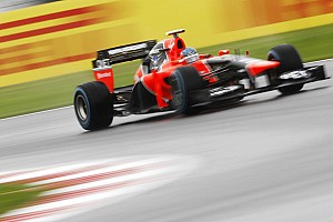 Formula 1 Race report Marussia drivers delivered a strong two-car finish at Silverstone