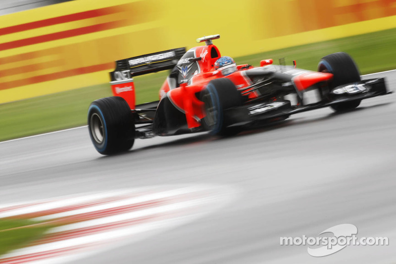 Marussia drivers delivered a strong two-car finish at Silverstone