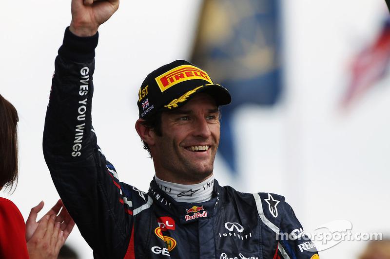 Red Bull Racing confirm Mark Webber for 2013